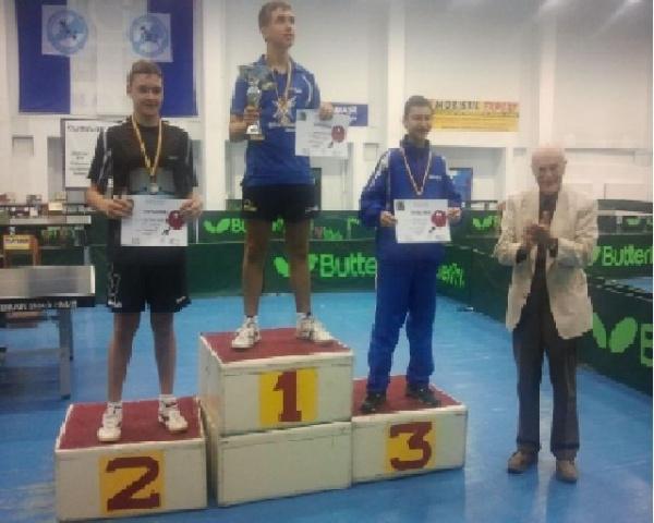 Tenis de masă: careieni la Cupa României