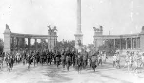 Marşul spre Budapesta: Căderea capitalei bolşevice (I)