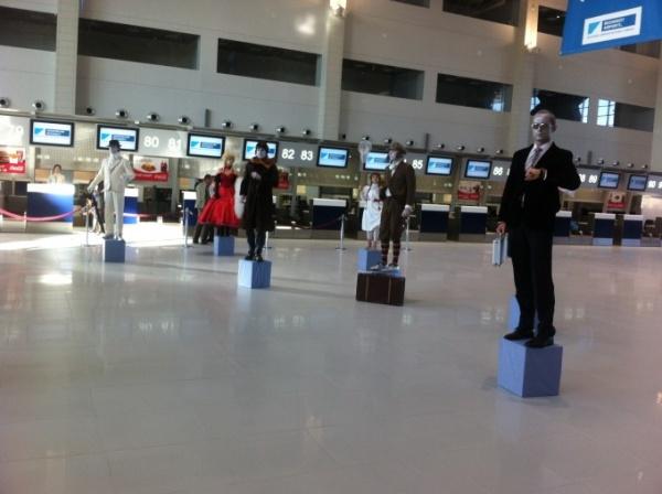Aeroportul Henri Coandă îşi dublează capacitatea. Noul terminal de plecări a fost inaugurat