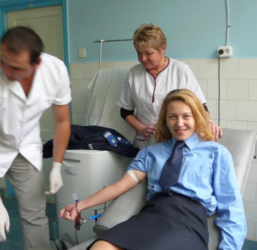 Campania de donare de sânge