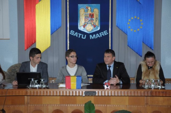 Şedinţa Consiliului Judeţean al Elevilor Satu Mare