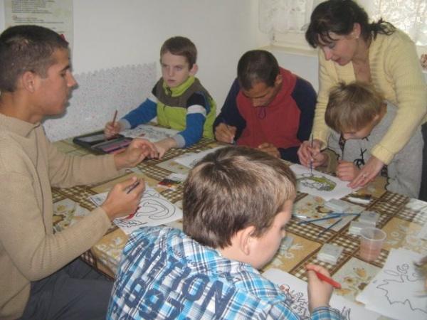 "Voluntariat la Casa de tip familal ""Violeta"""
