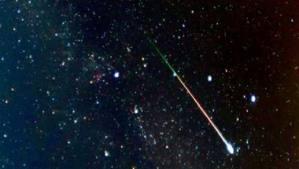 Ploaie strălucitoare de meteoriţi, pe 13 decembrie
