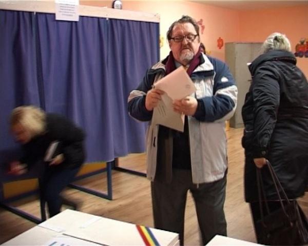 Lideri politici sătmăreni la vot