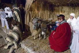 Personaje biblice la Festivalul Magia Crăciunului din Carei