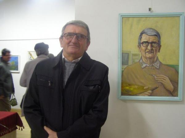 Dascălul şi pictorul Aurel Donca