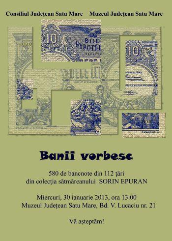 Expoziţie de bancnote