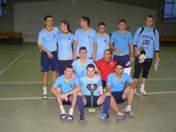 """RoşAlbaştri abonaţi  la câştigarea """"Cupa Futsal Carei"""""""
