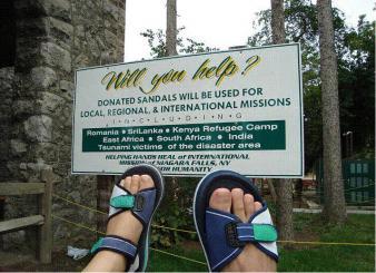 România, o destinaţie pentru sandale de pomană