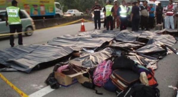 Autocar românesc  implicat într-un accident grav în Germania