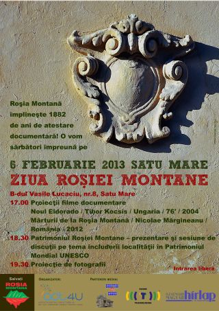Ziua  Roşiei Montane marcată la Satu Mare