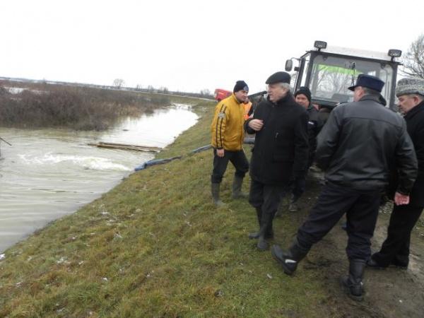 Celulă de criză pentru  prevenirea inundaţiilor pe raza judeţului Satu Mare