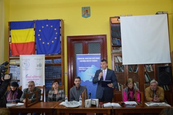 Instituţiile sătmărene au sărbătorit 95 de ani de la unirea Basarabiei cu România