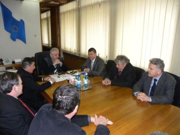 Preşedintele Sindicatului  Cadrelor Militare Disponibilizate,în vizită la Satu Mare