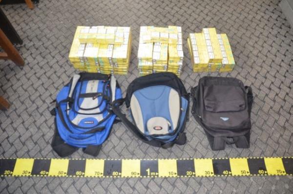 Peste 37 mii pachete de ţigări confiscate