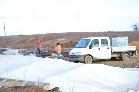 Noroi pietros de 11 milioane de euro! Centura de ocolire a Careiului se face cu materiale de proastă calitate!