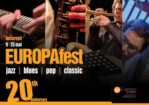 EUROPAfest – 100% jazz and more în România