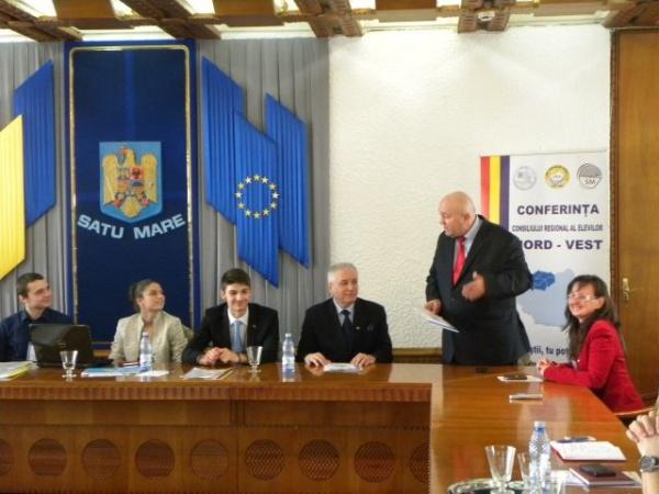 Deschiderea oficială a  Conferinţei Consiliului Regional al Elevilor din regiunea de Nord-Vest