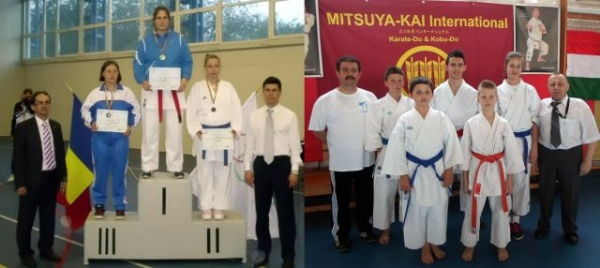 Salbă de medalii pentru karateka din Carei