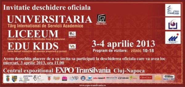 Din 3 aprilie,Universitaria-Liceeum-Edu Kids