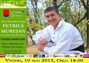 Concert folcloric cu Petrică Mureşan
