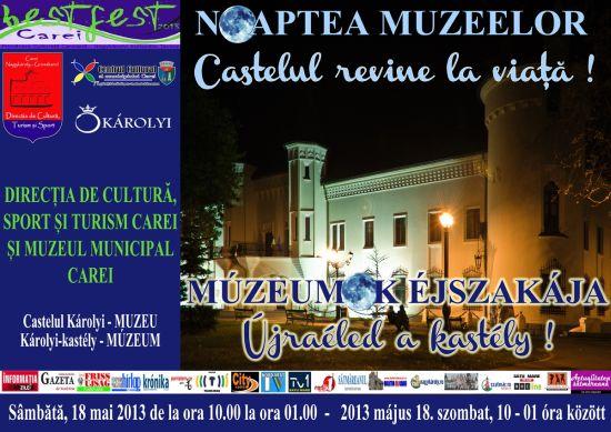 Noaptea muzeelor şi alte activităţi de weekend