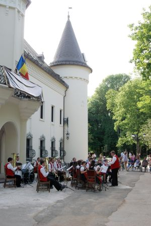 Muzică de promenadă în parc