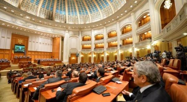 Referendumul lui Băsescu a picat în Parlament