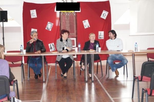 Schimb de experienţă  la Liceul Teoretic cu oameni de succes ai municipiului