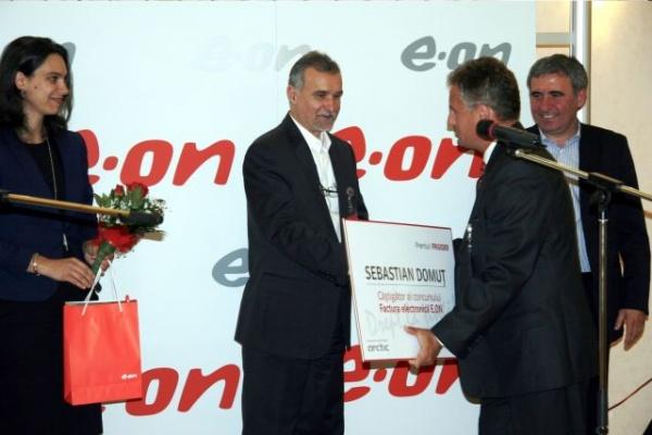 Factura electronică la E.ON gaz.Doi sătmăreni printre câştigători