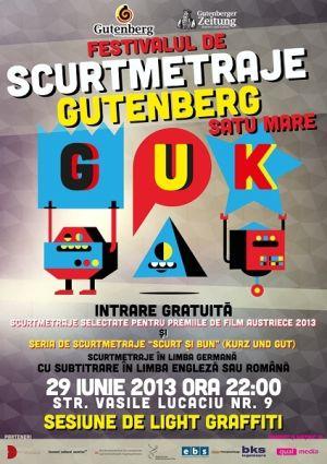 Festival de Scurtmetraje Gutenberg la Satu Mare