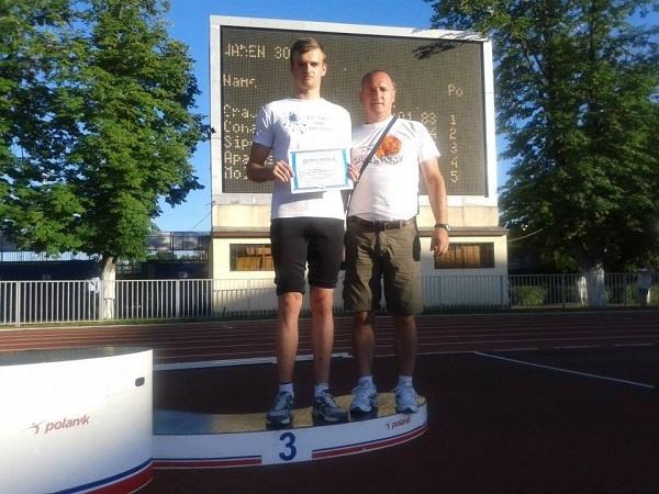 Atletism: medalie de bronz la naţionale pentru Marius Ţicle