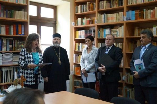 Inaugurarea Bibliotecii dr.Vasile Lucaciu