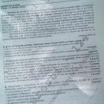 Subiectele de la limba română de la Evaluarea Naţională