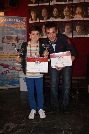 Darius Duţescu  şi Sergiu Fogaş de la LTC câştigători la Rotaract 2013