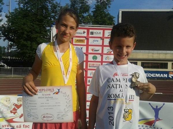 Atletism: Vlad Turcu-campion naţional la oină