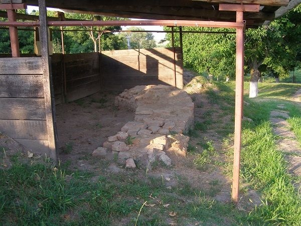 Căutători de comori la situl arheologic de la Bobald