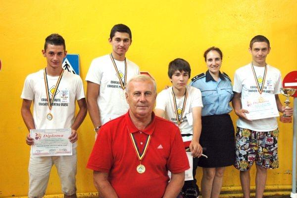 Elevii sătmăreni, pe podium la etapa naţională a concursului rutier