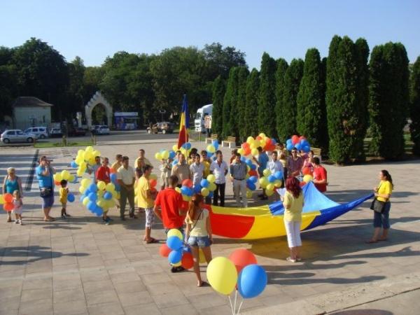 Tinerii liberali au sărbătorit Ziua Imnului