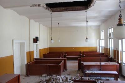 Tavan prăbușit la Tribunalul din Satu Mare