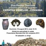 Ziua Porților Deschise pe şantierul arheologic de epocă dacică .Cetatea Zânelor – Covasna (ediţia 2013)