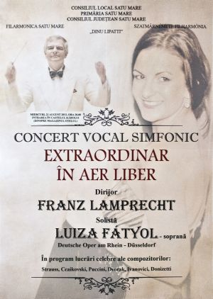 Filarmonica Satu Mare in concert la Carei