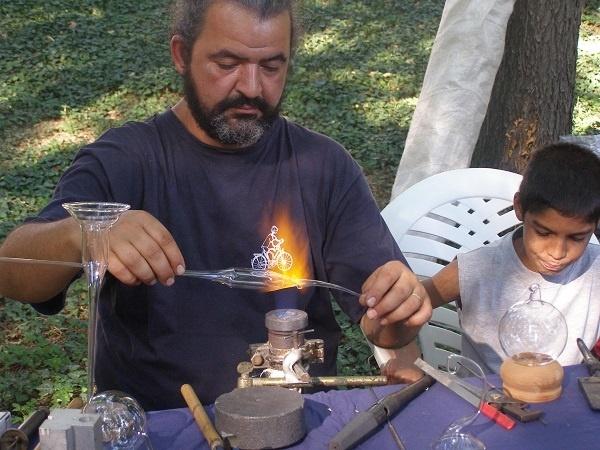 Meşteşugari la Festivalul Medieval Carei
