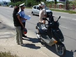 Mopedist careiean fără permis de conducere