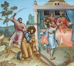 Sărbătoarea Tăierii  Capului Sfântului Ioan Botezătorul, zi de post