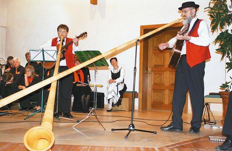Muzicieni elvetieni la Carei