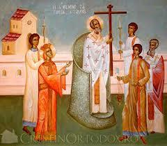 """Înălţarea Sfintei Cruci, """"semn sfânt al mântuirii noastre"""""""
