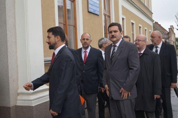 Kelemen Hunor şi vicepremierul maghiar la  Carei