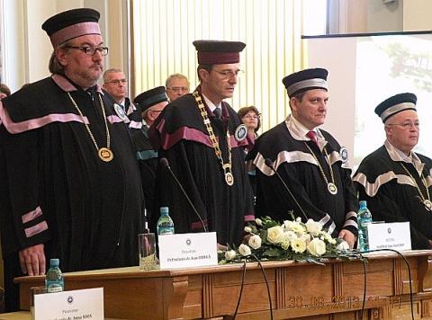 Deschiderea noului an academic la UBB Cluj