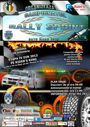 Rally Sprint la Satu Mare